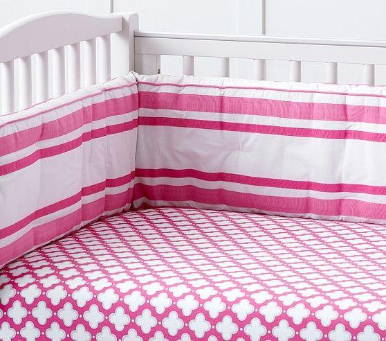 Harper Clover Geo Fitted Crib Sheet Crib Sheets Girl