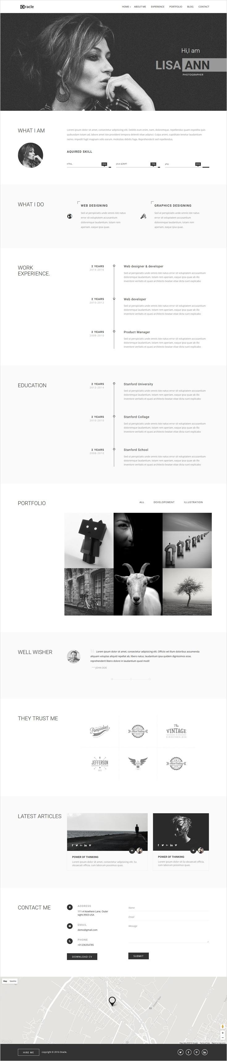 Pin by jing jing song on 个人网站 | Pinterest | Diseño web ...