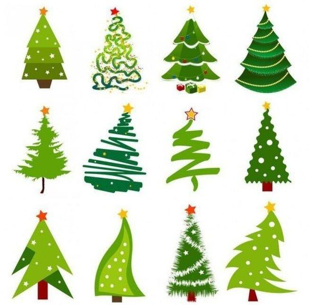 Pin by Victoria Tarasova on How to draw | Christmas tree ...