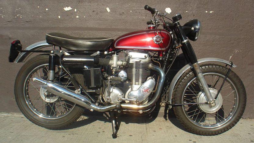 1960 Matchless Typhoon G80 Tcs Motos