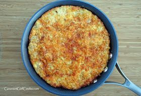 Gourmet Girl Cooks: White Cheddar Cauliflower Bake -- Low Carb & Grain-Free