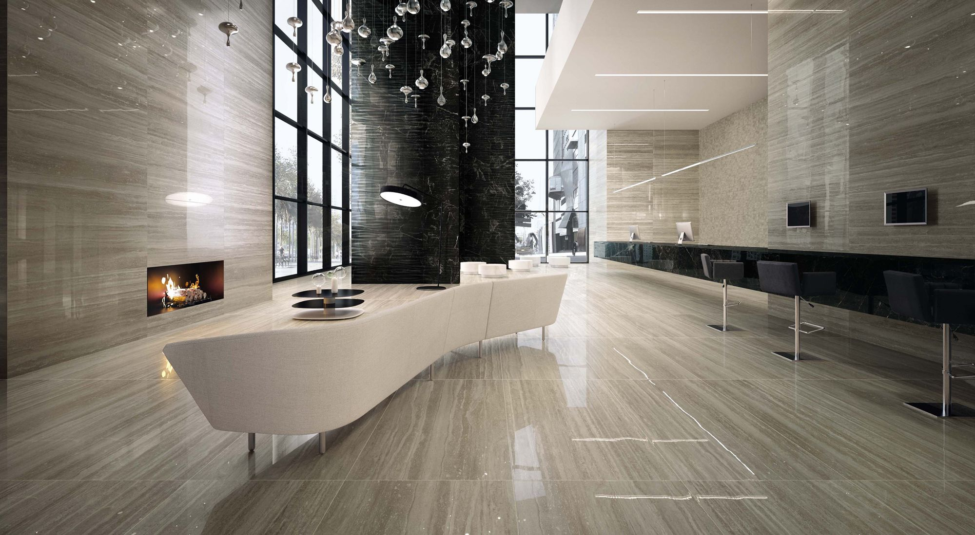 Minoli Porcelain Tiles Evolution Marvel Floor Tiles