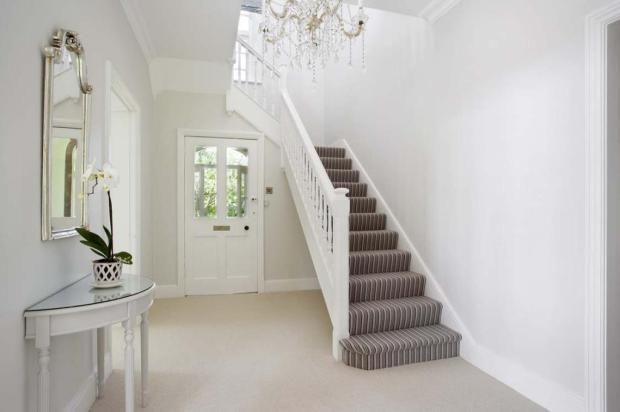 Best Bright And Light With Stripe Stair Carpet Home 400 x 300