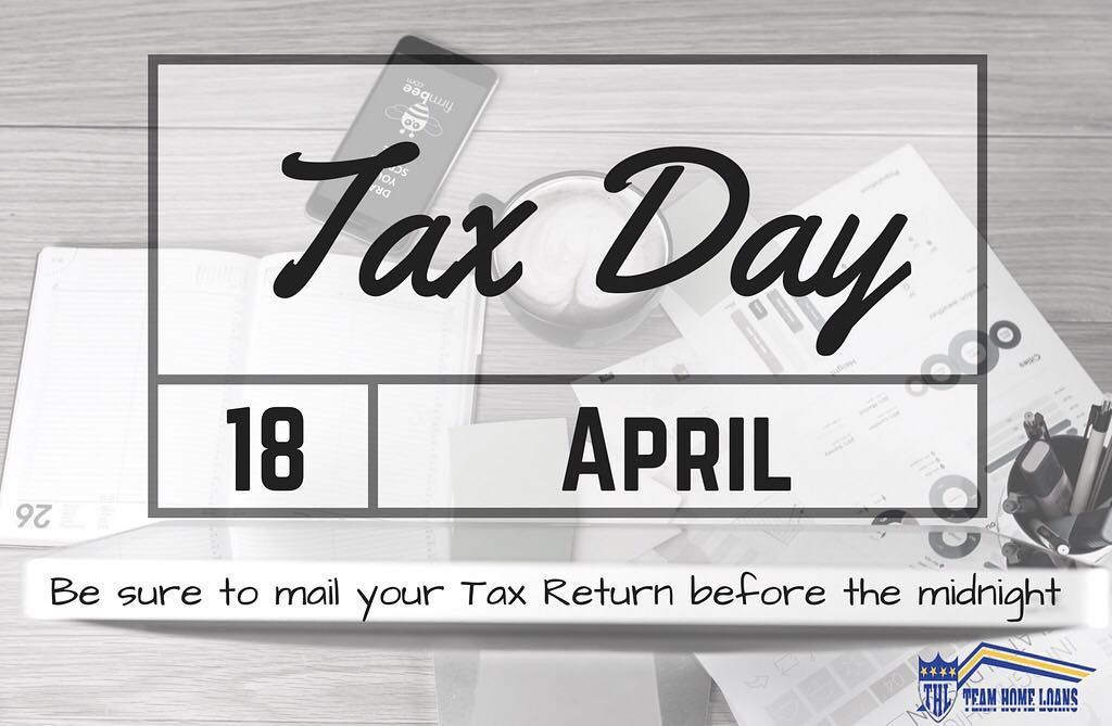 Today Is The Last Day To File Your Income Taxes Make Sure You Get Them In Before Midnight Or File An Extension Taxday Incometax Lo Home Loans Loan Tax Day