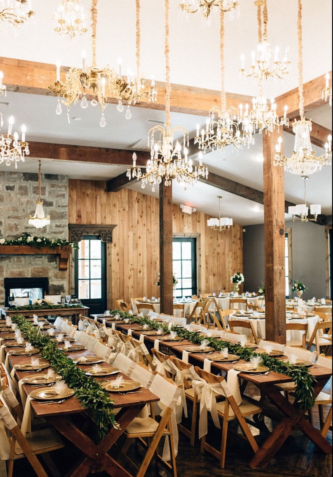 Rustic Glam Wedding The Grand Hall Montgomery, Texas ...