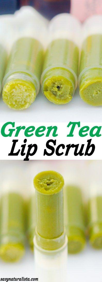 Green Tea Lip Scrub - Savvy Naturalista