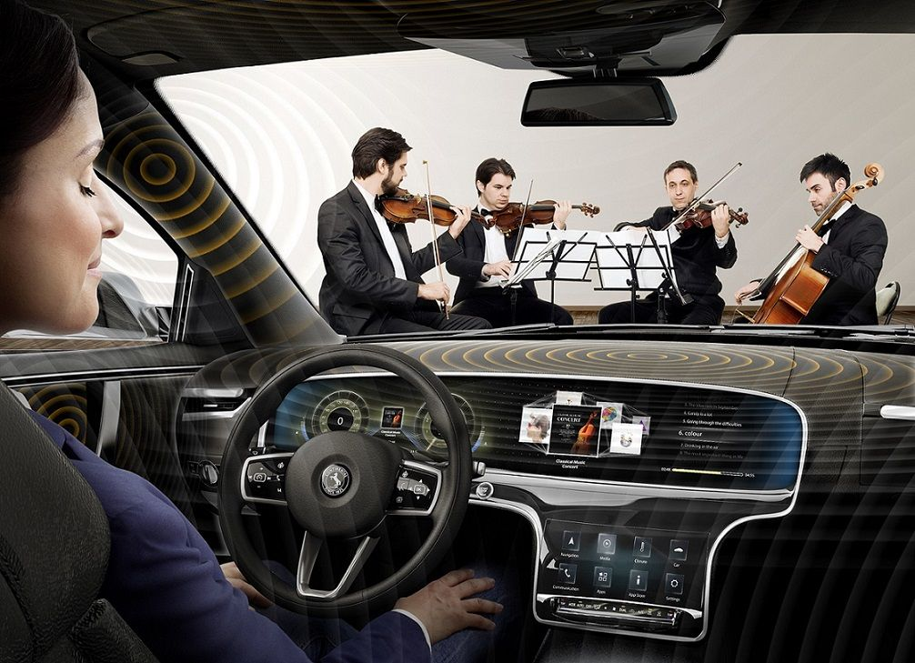 Acts Like A Violin Continental Presents Innovative Car Audio Technology Car Audio Systems Car Audio Audio System