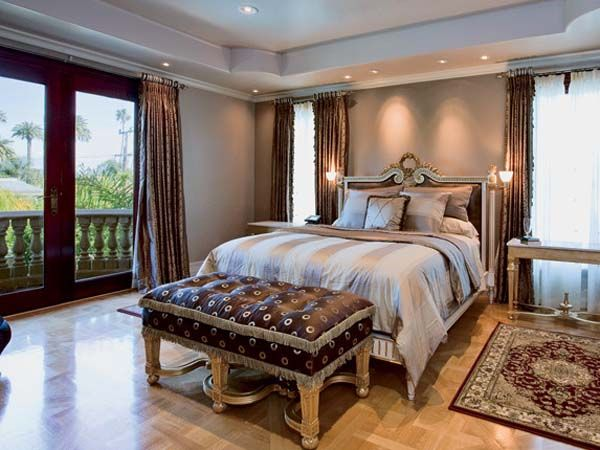 Master Bedroom Modern Interior Design In Neo Classic Style Beautiful Mansion In Beverly Hills