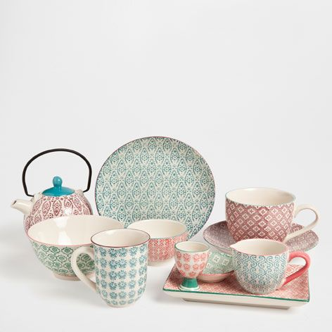 vaisselle soleils porcelaine vaisselle table zara home france d co pinterest zara. Black Bedroom Furniture Sets. Home Design Ideas
