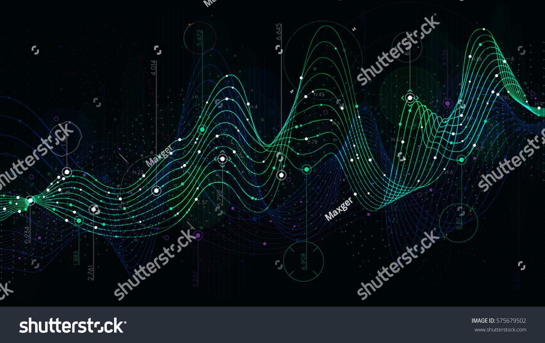 Schedule Statistics Data Analytical Indicator Sci Fi Background