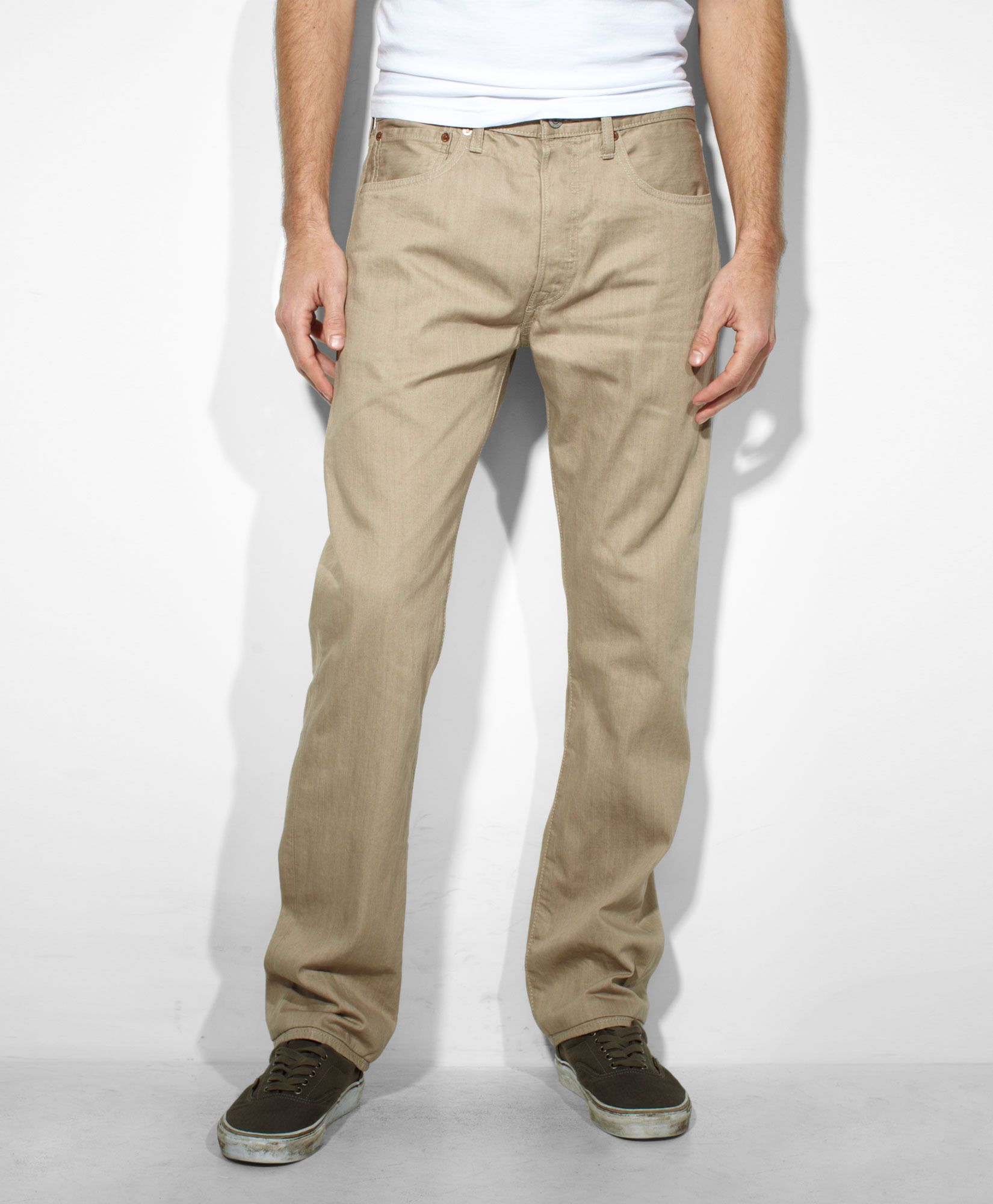 Levis 501 original fit pants true chino chino jeans