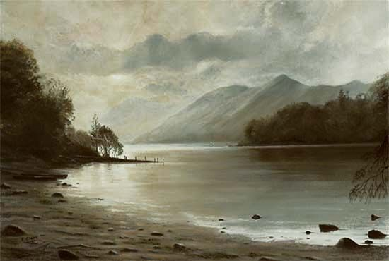 """""""The End of the Day"""", Derwentwater"""
