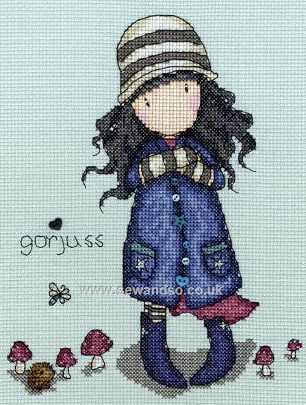 Buy+Toadstools+Cross+Stitch+Kit+Online+at+www.sewandso.co.uk | Punto ...
