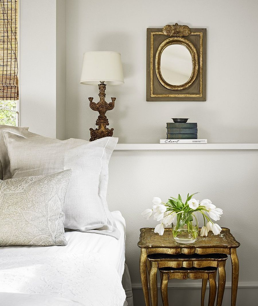 20 Nightstands and Bedside Tables That Add Golden Glint to ...