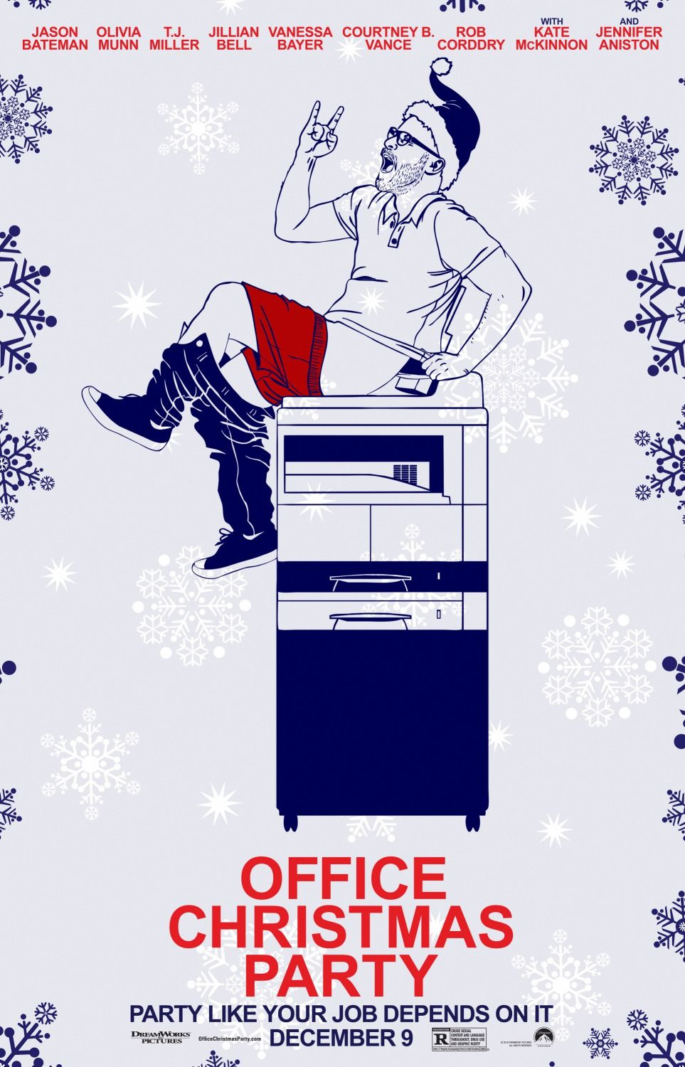 Office Christmas Party Poster 2 Posters Pinterest Office