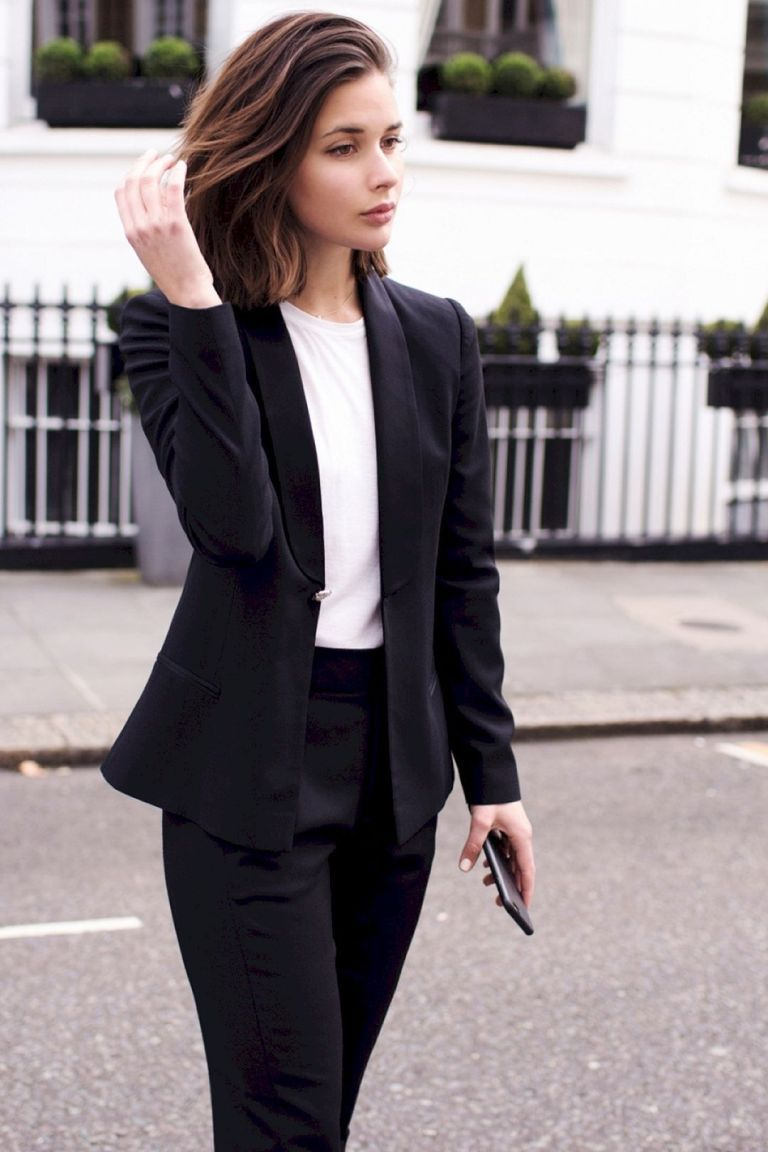 Tailored Pant Suit For Women
