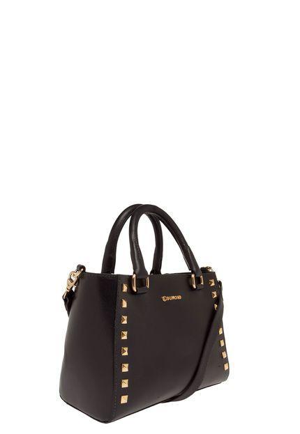 1e243f0ad Bolsa Tote Couro Dumond Grande Preta | it bag | Bags
