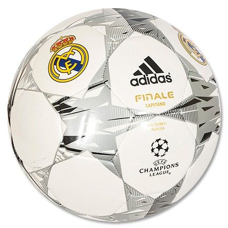 Pelota de Fútbol del Real Madrid Champions League Finale Capitano Ball 7b50ea4af2a37