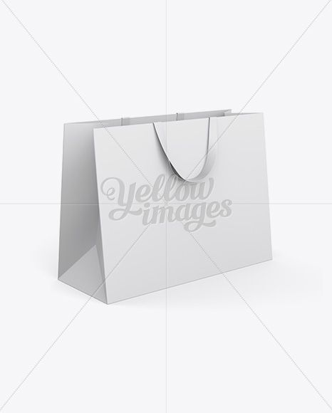 Download Paper Shopping Bag With Ribbon Handles Mockup Halfside View In Bag Sack Mockups On Yellow Images Object Mockups Design Mockup Free Free Packaging Mockup Mockup Free Psd