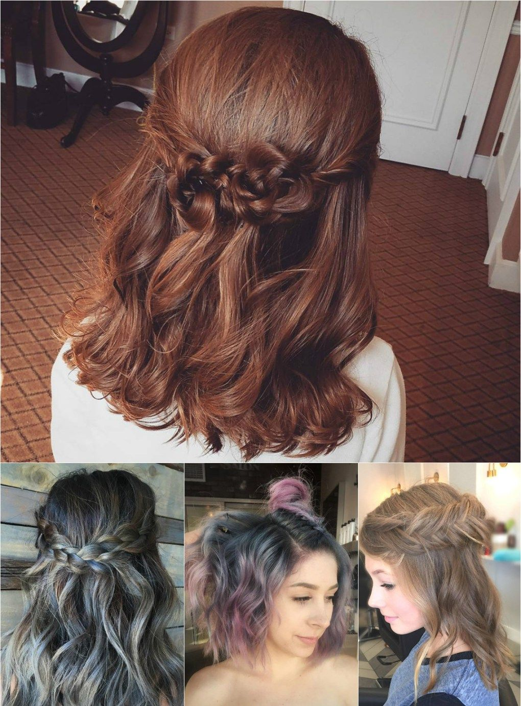 Half Updos Hairstyles Pinterest Up Dos And Updo