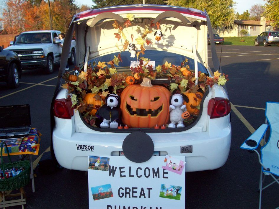 exterior trunk or treat decorating ideas for church and welcome great party for halloween steps for - Halloween Trunk Or Treat Decorating Ideas