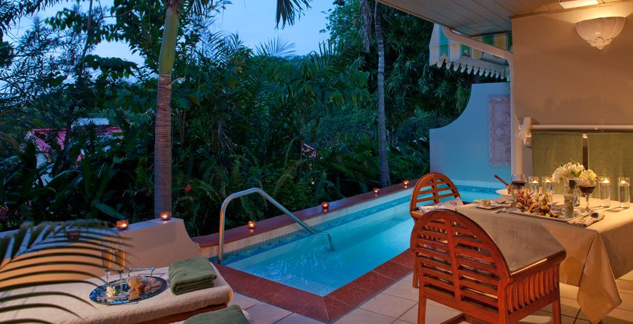 Honeymoon Hideaway One Bedroom Suite With Private Pool A Personal Butler