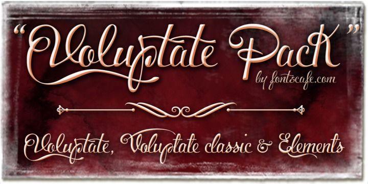 Download Voluptate - Webfont & Desktop font « MyFonts | Download ...