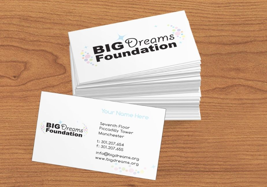 Business Card design for charity | Realistic campaign | Pinterest ...