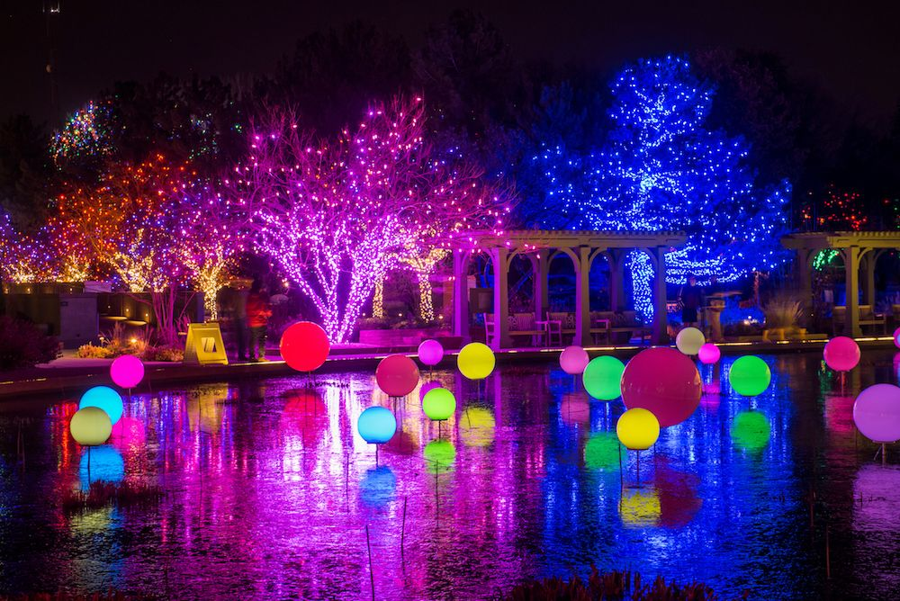 blossoms of light denver Holiday lights display, Holiday