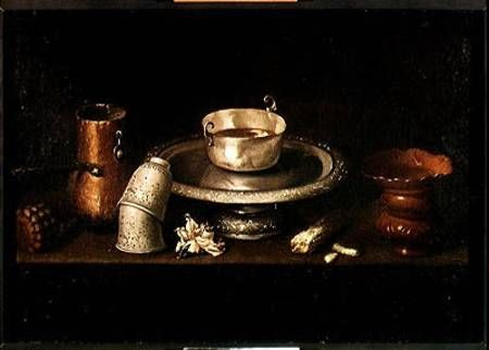 still_life_bowl_chocolate_bre_hi.jpg (450×322). Francisco de Zurbaran, 1598-1664