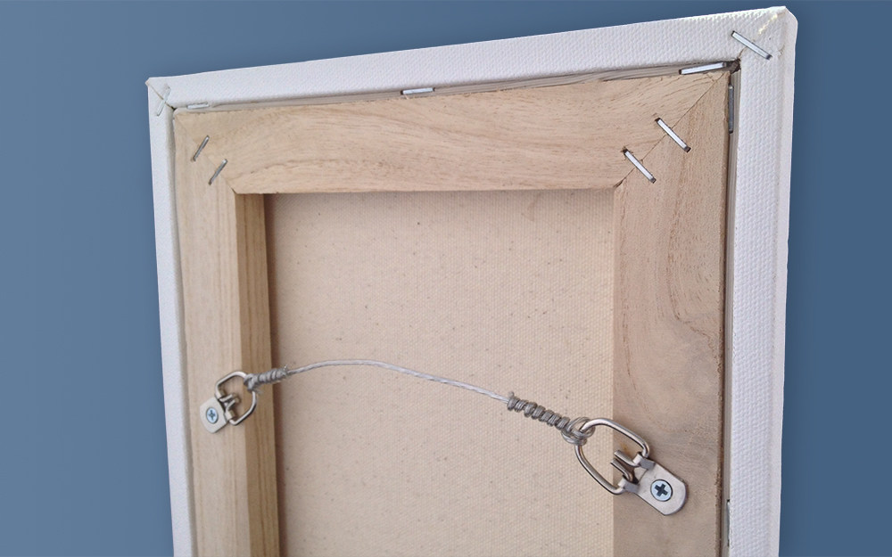 Picture Frame Heavy Mirror Hanging, How To Hang A Mirror With D Rings