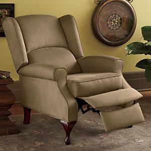 Excellent Microfiber Wingback Recliner From Montgomery Ward Awesome Forskolin Free Trial Chair Design Images Forskolin Free Trialorg