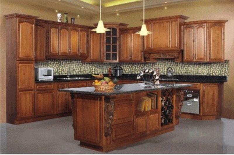 armoires de cuisine tendances 2015 chene   Maple Kitchen Cabinet ...