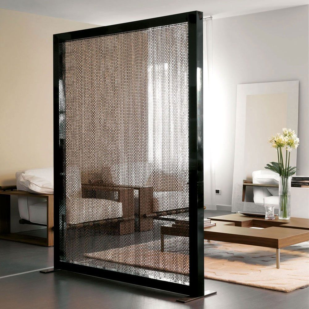 Interior Design, The Translucent Fabrics Materials For Unique Decorative Room  Divider Ideas: How To Make A Room Divider With Low Budget? Part 48