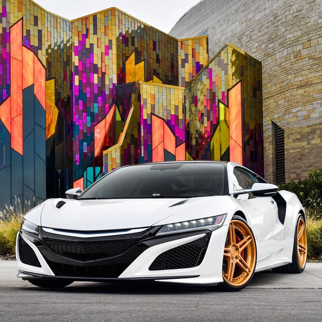 "AG Luxury Wheels On Instagram: ""Eye Candy. An #Acura #NSX"
