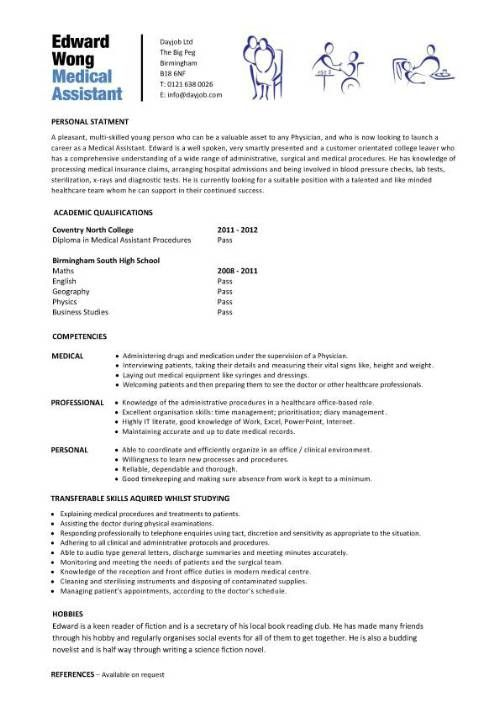 Medical Assistant Resume With No Experience Medical Receptionist Resume With No Experience  Httpwww .