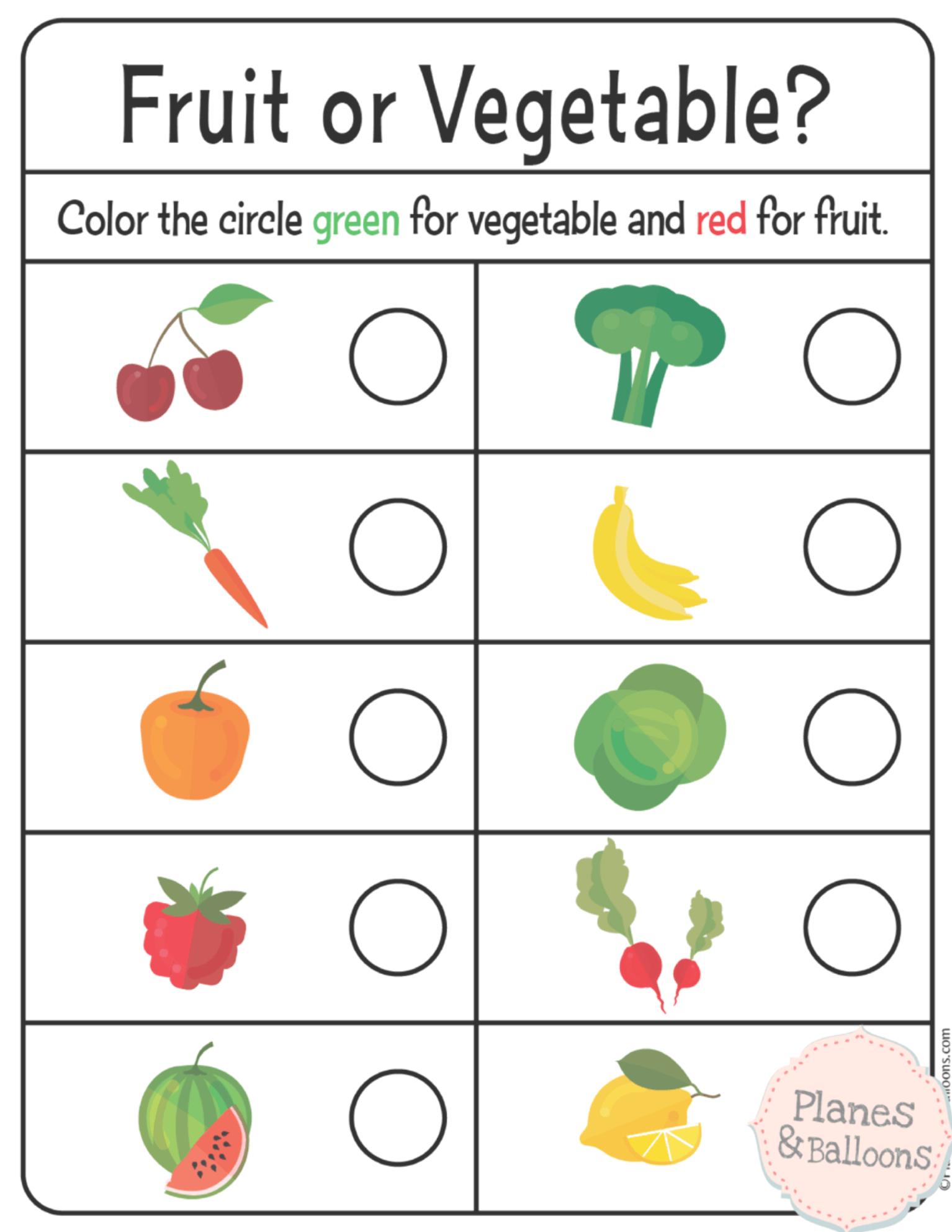Fun Sorting Worksheets For Preschool And Kindergarten