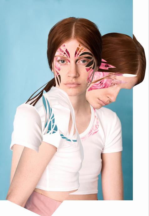 Collages: Meriç Canatan Photographer: Yeşim Özügeldi Stylist: Esra Dandin Model: Carolina @ Ice Models Hair & Make up: Onur Marangoz