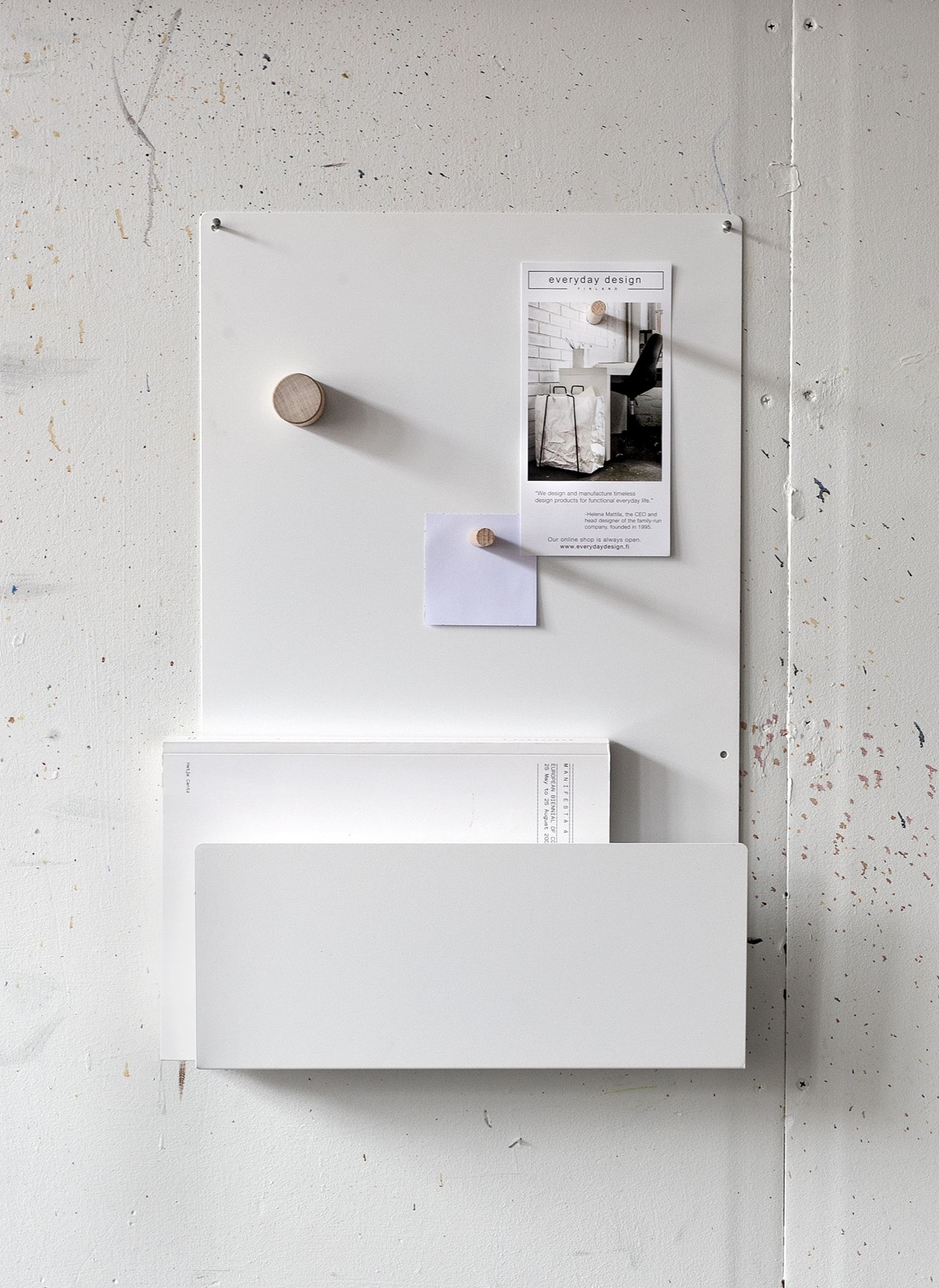 Hallway key storage  Simple Sustainable Storage from Everyday Design in Finland