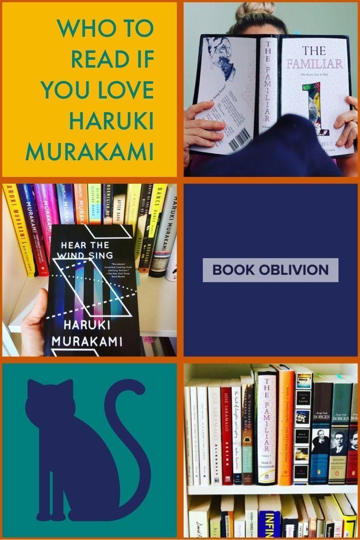 Authors similar to haruki murakami in mindbending