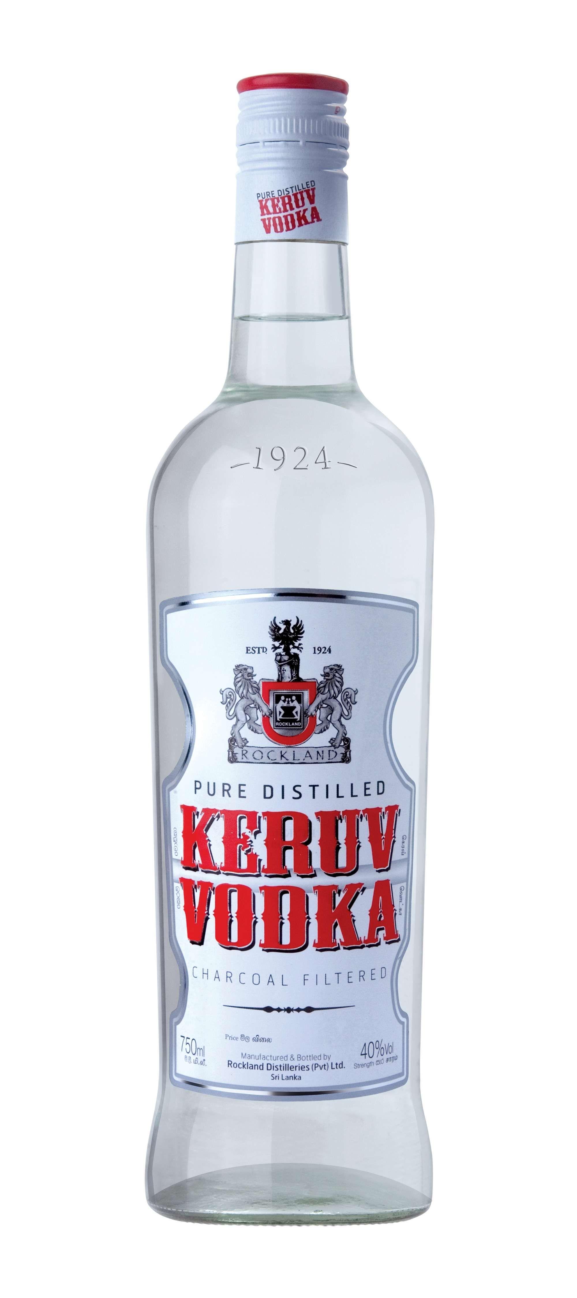 Smooth Keruv Vodka Rockland Srilanka Spirits Sl Lk Lka