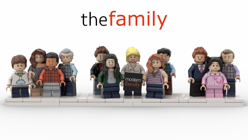 Modern Family The Dunphy House In 2020 Modern Family Funny Tv Series Abc Tv Series