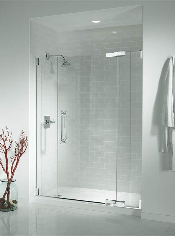 Kohler K 9054 Bathroom Remodel Shower Frameless Shower Doors