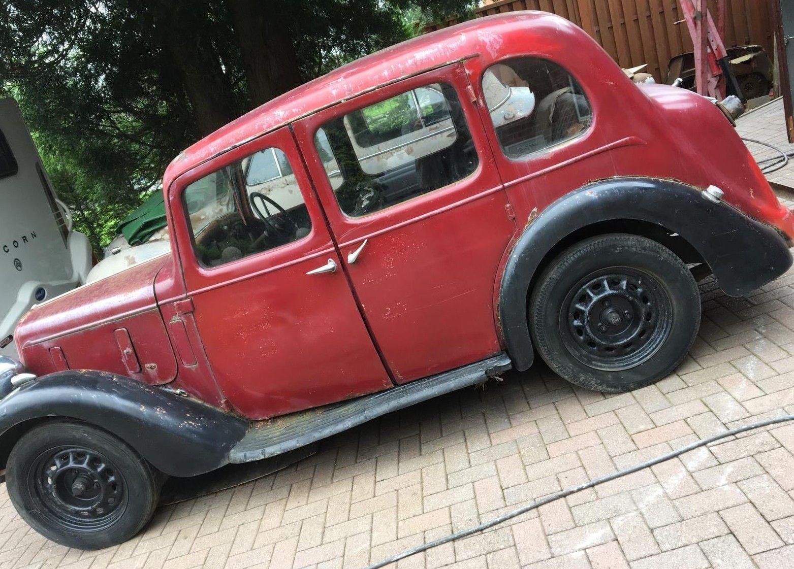 Ebay Austin 10 4 Cambridge Saloon 1937 Pre War To Restore No Reserve Pre1960s Cars British Cars Austin Cars Saloon