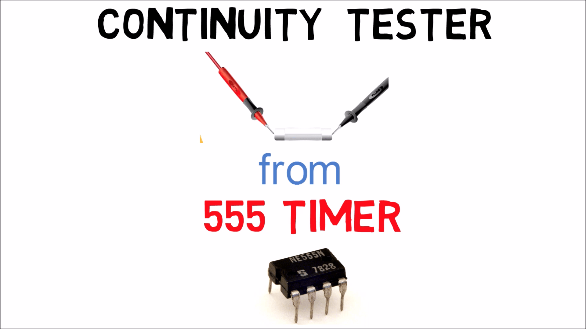HOW TO MAKE A CONTINUITY TESTER USING 555 TIMER | DIY ELECTRONIC ...