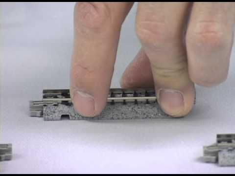 Model railroad video: How to set up and run the Kato N scale Metra