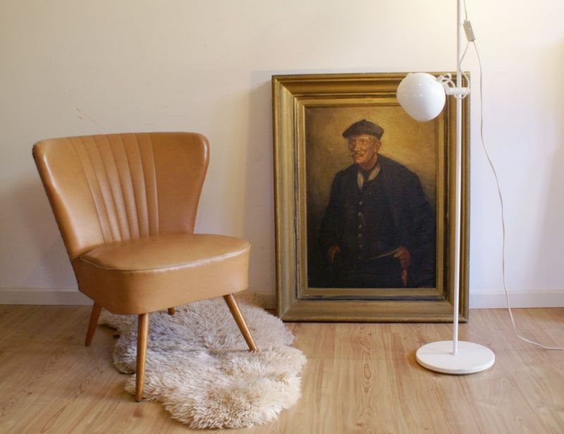 Hippe cocktail club fauteuil uit de jaren 50 retro stoel stoelbekleding pinterest for Scandinavische cocktail