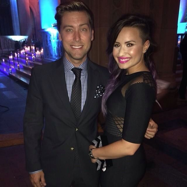 Demi Lovato and Lance Bass!!!