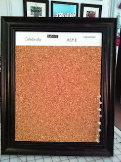 Buttons Bows Bling Cork Tiles Dry Erase Dry Erase Board