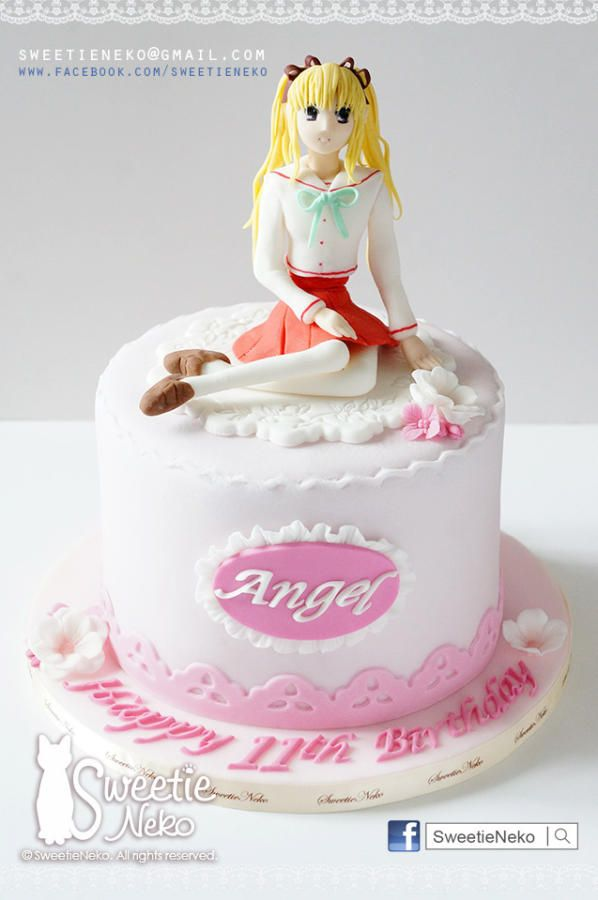 Japan Animation Theme Character Cake Cake By Karen Heung 8th